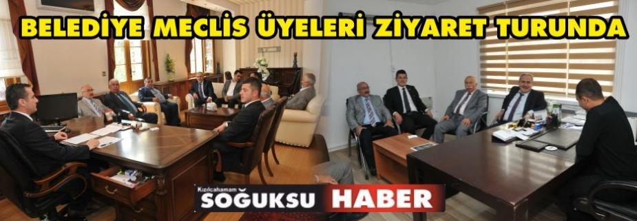 MECLİS ÜYELERİ ZİYARET TURUNDA