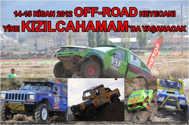 OFF-ROAD KIZILCAHAMAMDA