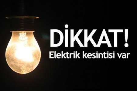 Polatlı ve Kızılcahamam'da Elektrik Kesintisi