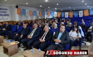 AK PARTİ EYLÜL AYI İLÇE DANIŞMA MECLİSİ TOPLANTISI YAPILDI