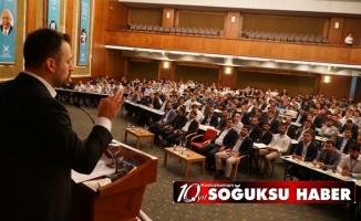 TÜGVA İL VE İLÇE TEMSİCİLERİ TOPLANTISI SONA ERDİ