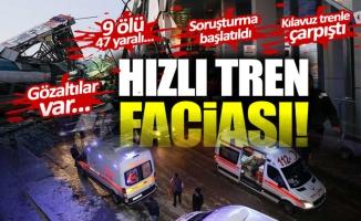YHT KAZASINDA ÖLENLERİN İSİMLERİ BELLİ OLDU!
