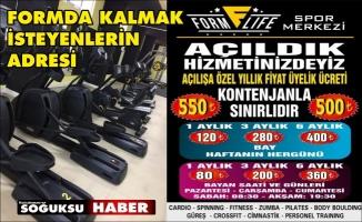 SPOR SALONU AÇILDI KAYITLAR BAŞLADI