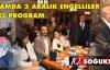 KIZILCAHAMAMDA 3 ARALIK ENGELLİLER GÜNÜNE ÖZEL PROGRAM