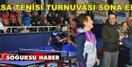 12. VETERAN MASA TENİSİ TURNUVASI SONA...
