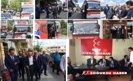 MHP MİLLETVEKİLİ YAŞAR YILDIRIM KIZILCAHAMAM'ATEŞEKKÜR ETTİ.