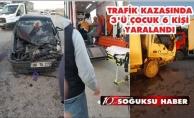 KAHRAMANKAZAN'DA TRAFİK KAZASI