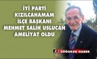 USLUCAN HASTANEYE KALDIRILDI