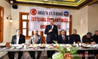 ANKARADA BİRLİK 'DEN CUMHUR İTTİFAKINA DESTEK