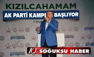 CUMHURBAŞKANI RECEP TAYYİP ERDOĞAN KIZILCAHAMAM'A GELİYOR