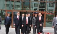 VALİ ŞAHİN KIZILCAHAMAM'A GELDİ