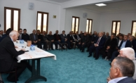 MUHTARLAR TOPLANTISI KURUMCU MAHALLESİNDE YAPILDI