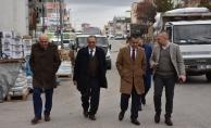 GİMAT'TA KIZILCAHAMAMLI ESNAFIMIZI ZİYARET ETTİLER