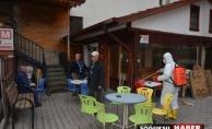 KIZILCAHAMAM'DA TEDBİRLER ARTIRILDI