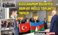 EKİM AYI MECLİSİNDE AZERBAYCAN BAYRAĞI AÇILDI