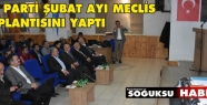 AK PARTİ ŞUBAT AYI MECLİS TOPLANTISINI...