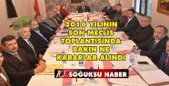 ARALIK AYI MECLİS TOPLANTISI