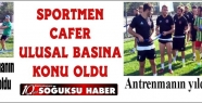 CAFER ULUSAL BASINA KONU OLDU