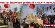 CUMHURİYET İLKOKULU ŞEHİTLERİ ANMAYA...