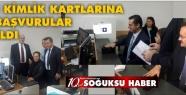 KIZILCAHAMAM DA YENİ KİMLİK KARTI MÜRACAATLARI...