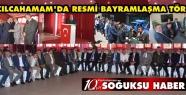KIZILCAHAMAM'DA RESMİ BAYRAMLAŞMA TÖRENİ...