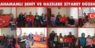 KIZILCAHAMAMLI ŞEHİT VE GAZİLERE ZİYARET...