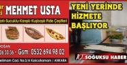 MEŞHUR PİDECİ MEHMET USTA YENİ YERİNDE...