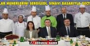USTALAR HÜNERLERİNİ SERGİLEDİ, SINAVI...