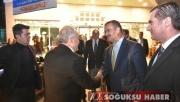 BAKAN AHMET EŞREF FAKIBABA KIZILCAHAMAM'A GELDİ