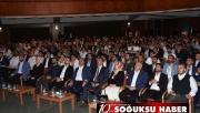 ADALET BAKANI ABDULHAMİT GÜL KIZILCAHAMAM'A GELDİ