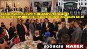 BAKAN KURUM PROJELERİ SIRALADI
