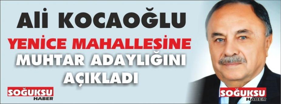 YENİCE MAHALLESİNE BİR ADAY DAHA