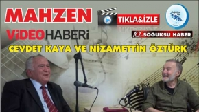 MAHZEN'İN KONUĞU CEVDET KAYA VİDEO